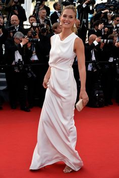 Pin for Later: The Very Best Style Moments From Last Year's Cannes Red Carpet Bar Refaeli