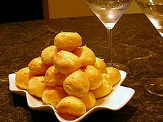 Fogo de Chao cheesy bread puffs – hot cheese puffs fresh out of the oven are hard to beat.