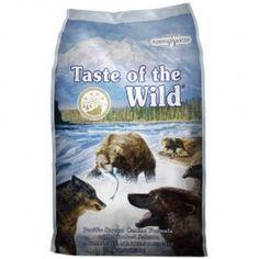 Taste of the Wild | Pacific Stream (Salmón). Con Salmón fresco y ahumado. SIN CEREALES. Un pienso que proporciona energía digestible y una nutrición excelente para su perro adulto. Esta fórmula monoproteica a base de salmón, ofrece una sensación de sabor sin igual. Las frutas y verduras ofrecen antioxidantes naturales. Compra online en www.zazbuy.com. ENVIAMOS a domicilio a todas las Islas Canarias. #perros #dogs #mascotas #pets #piensosparaperros #tasteofthewild
