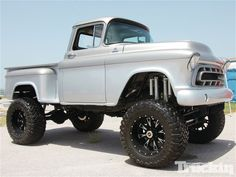 2012 Heat Wave Lift Classic Truck.. reminds me of a jacked up Mater..lol!!  Looks nice though.