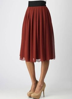 classy and cheap skirt