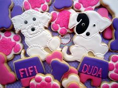 Pet Cookies by Cookieria By Margaret, biscoito decorado, bolacha decorada