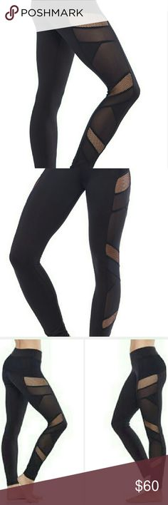 Electric Yoga Leggings Sexy Mesh Electric Yoga leggings. Electric Yoga Pants Leggings