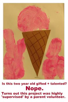 Blog article on the significance of children's Art, including the issue of adults who manipulate/change/fix the work of children.... what message does it send? How can we support children in their own process?