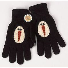 snowman gloves! Link doesn't work Just enjoy the picture =)