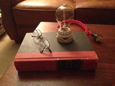 Lampada Touch comodino libro di CreativeWrx su Etsy