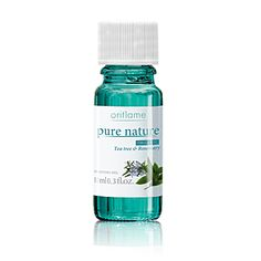 Effective formula with concentrated organic tea tree and rosemary oil
