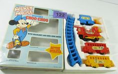 1000 images about disney on pinterest auction walt for Disney mickey mouse motorized choo choo train with tracks