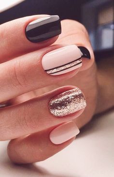 40 Stylish Easy Nail Polish Art Designs for This Summer for .- 40 Stylish Easy Nail Polish Art Designs for This Summer for 2019 – Page 33 of 40 40 Stylish Easy Nail Polish Art Designs for This Summer for 2019 Page 33 of 40 - Cute Simple Nails, Cute Nails For Fall, Perfect Nails, Pretty Nails, Gem Nail Designs, Acrylic Nail Designs, Nails Design, Easy Nail Art Designs, Gel Nail Polish Designs