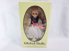 "House of Global Art Italy Collector Doll 8"" Inch GERMANY House of Goebel #HouseofGlobalArt"