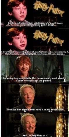 Snape's picture