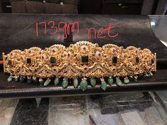 Antique Jewellery Designs, Indian Jewellery Design, Antique Jewelry, Jewelry Design, Bridal Jewelry, Gold Jewelry, Vaddanam Designs, Waist Jewelry, India Jewelry