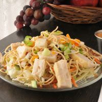 This Oriental chicken salad is a wonderfully light way to enjoy lunch. As a bonus, it happens to taste just like Applebee's version of the salad. A copycat recipe for the ages!