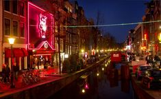 De Wallen is the red light district of Amsterdam, and Dutch politicians are considering a new law to criminalise punters for engaging with a prostitute who may have been trafficked Visit Amsterdam, Amsterdam City, Amsterdam Travel, Amsterdam Holland, Lloyd Hotel Amsterdam, Victoria Hotel Amsterdam, Bed And Breakfast, Cozy Bar, Patio Central