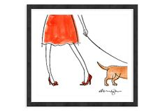 Alanna Cavanagh, Red Bow Shoes on OneKingsLane.com
