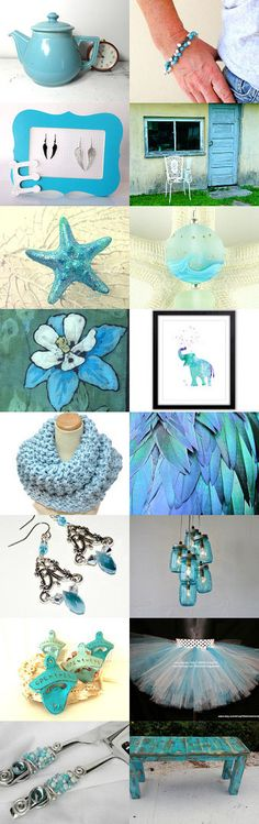 Blue Light Specials by Carla on Etsy--Pinned with TreasuryPin.com