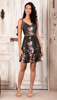 Hostel Felicidad (Page Beautiful Summer Dresses, Fashion Beauty, Womens Fashion, Feminine Style, Asian Woman, Style Guides, Summer Outfits, Summer Clothes, Peplum Dress