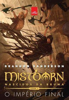 Biblioteca nerd: Mistborn - Nascidos da Bruma: O Império Final de Brandon Sanderson   Nerdivinas