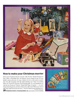 Vintage Christmas Ads from the 1950s