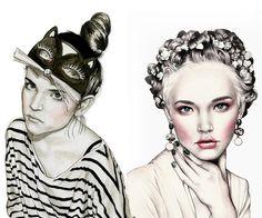 AMO ILUSTRACIÓN /// ilustración inspiración: Hannah Muller