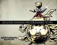 free desktop pictures afro samurai - afro samurai category