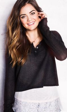 Lucy Hale – Hollister Clothing Photoshoot 2014