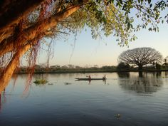 Río Magdalena a su paso por Mompóx, Colombia