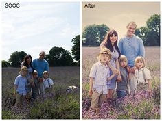 Click to see the editing process in Lightroom LR5 and Photoshop