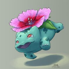 Nice, a dianthus Bulbasaur!