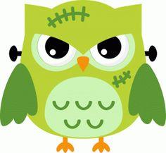 Silhouette Online Store: frankenstein owl