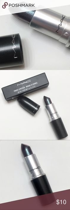 MAC Lipstick On and On New, never used or swatched lipstick from MAC Cosmetics. Beautiful cosmic lipstick. If you have any questions feel free to let me know. All items are shipped with Love & Care. MAC Cosmetics Makeup Lipstick