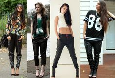 Resultado de imagem para estilo swag feminino tumblr