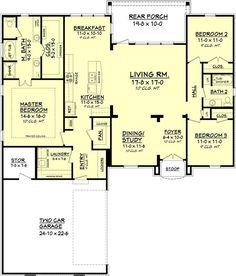 142-1089: Floor Plan Main Level