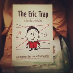 Very excited that our Book is done after  2 years of hard work and dreaming up the idea for a different kind of collaborative book project. I love that The Eric Trap is a story about a kids pastor written by kids pastors. Being a leadership fable the story pulls you in and the principles reinforce the things you read in the fable.