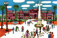 Plaza de Mayo en los '70