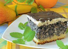 Uwielbiam makowe wypieki. Ten z orzechami jest pyszny! Poppy Seed Cake, Cheesecakes, Delish, Food And Drink, Snacks, Baking, Sweet, Desserts, Cook