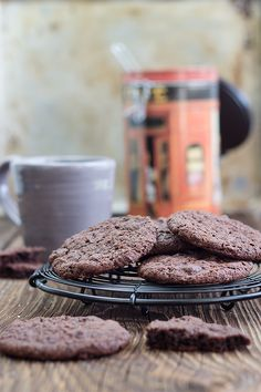 Maras Wunderland // Espresso Chocolate Chunk Cookies