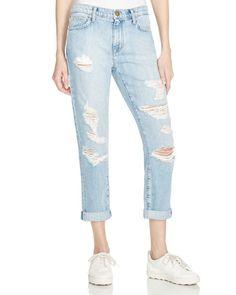 Current/Elliott Destroyed Jeans in Bewitched Destroy