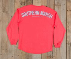 Southern Marsh Collection — Southern Marsh Long Sleeve Rebecca Jersey http://www.southernmarsh.com/collections/long-sleeve-tees/products/southern-marsh-long-sleeve-jersey-shirt