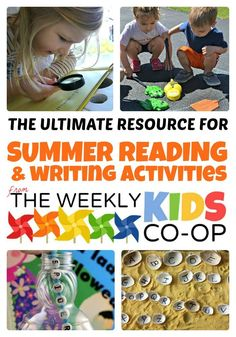 "Ultimate Resource for Summer Reading and Writing Activities - perfect for preventing summer learning loss - or the dreaded ""Summer Slide""!"