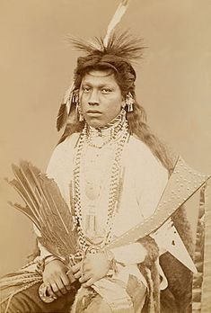 The Stag - Omaha 1883 http://www.firstpeople.us/native-american/photographs/the-stag-ommaha