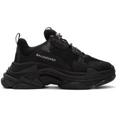 SSENSE -  Balenciaga Balenciaga Black Triple S Sneakers - AdoreWe.com  Divatcipők 286007986d