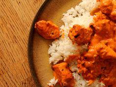 4TikkaMasala1 Chicken Tikka Masala, Salmon, Curry, Thanksgiving, Baking, Ethnic Recipes, Food, Curries, Thanksgiving Tree