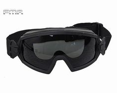 FMA LPG01BK12 2R Regulator Goggle Anti fogging Anti dust Goggle TB970 Tactical Glasses Cycling Eye Protection
