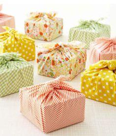 Cloth Gift Wrap.