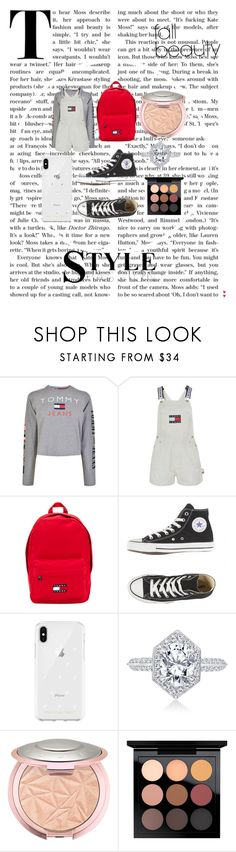 """""""Tommy Hilfiger Outfit"""" by thankins101 ❤ liked on Polyvore featuring Tommy Hilfiger, Rebecca Minkoff and MAC Cosmetics"""