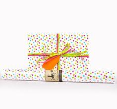 Inky Co.'s Confetti Carnival roll wrap