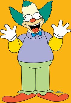 Springfield Characters: Krusty the Clown