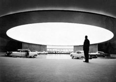 General Motors Technical Center by Eero Saarinen, 1956