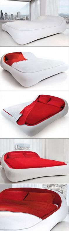 Introducing Zipper Bed, one bizarre bed you probably never have to make after getting up.
